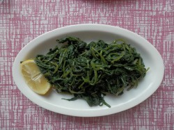 Chicory with Lemon