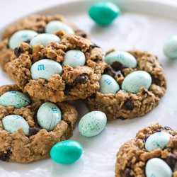 easter egg monster cookies