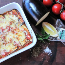 Eggplant lasagne a low cal treat