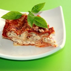 Cannelloni with Cheese-Bacon Fillin