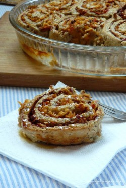 Cinnamon-Apple Healthy Rolls