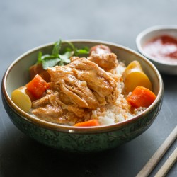 Slow Cooker Asian Ginger Chicken