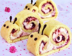 Snail roulade