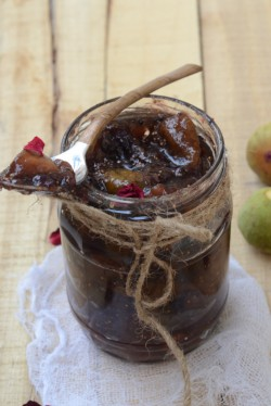Fig and Rose Jam