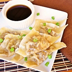 French Onion Soup Pot-Stickers