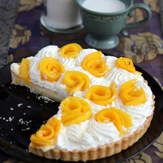 Mango-Coconut Cream Tart
