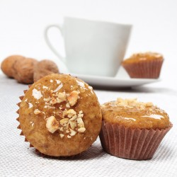 Muffins with nuts