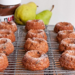 Nutella Pear Cakes