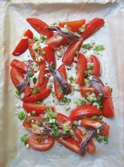 Pasta Sauce of Roasted Anchovies