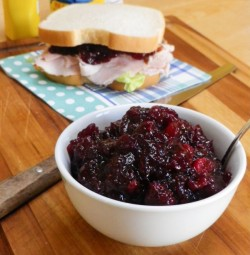 Ruby Port Cranberry Sauce