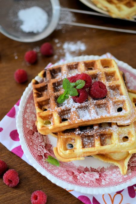 Yogurt Waffles.