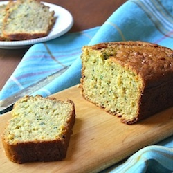 Zucchini Bread with Brown Rice