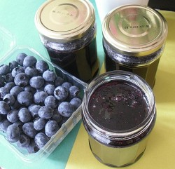 Blueberry Preserves without Pectin