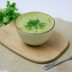 Chilled Spanish White Gazpacho