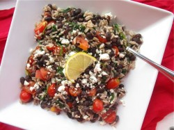 Easy bean and rice dish