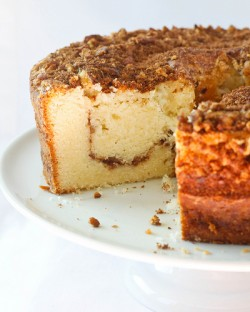 Sour Cream Pecan Coffee Cake
