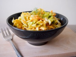 Spiced coleslaw