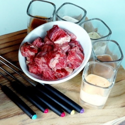 Steak Fondue