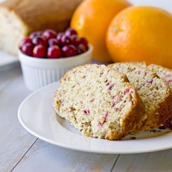 Sylvia's Cranberry Orange Bread