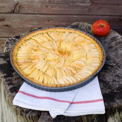 Apple Ricotta Tart