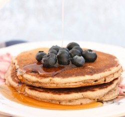 Blueberry Multigrain Pancakes