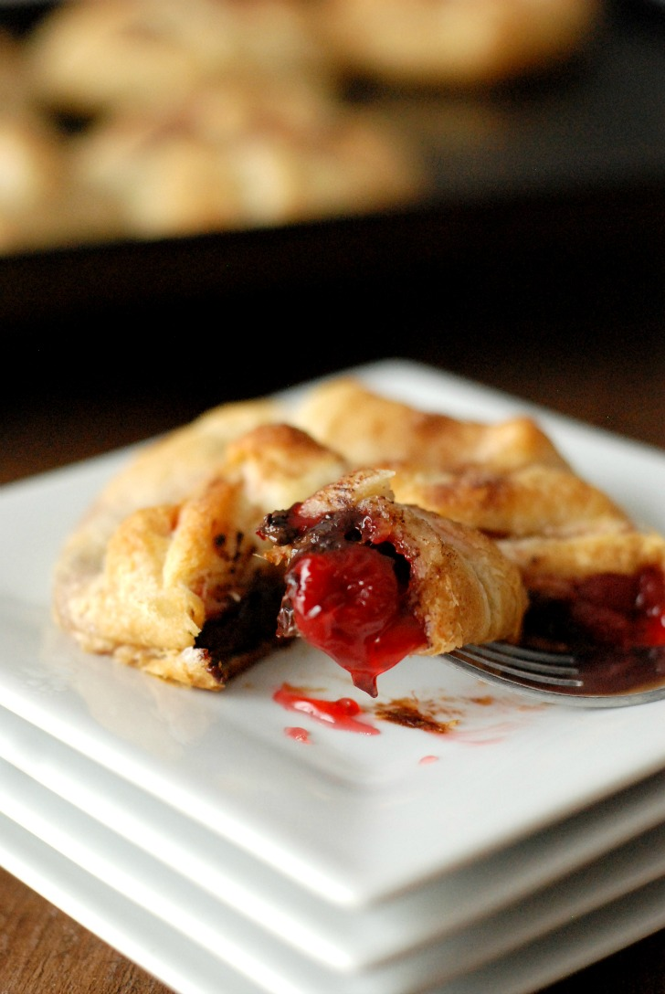 Chocolate Cherry Pie Bundles