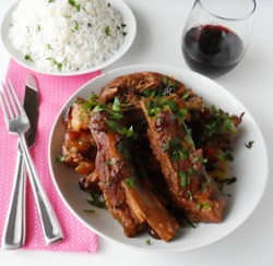 Crockpot Cranberry Ribs