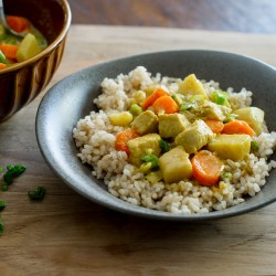Easy Chicken Curry with Vegetables