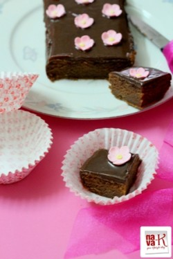 Milo Cake With Milo Glaze Eggless