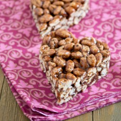 Puffed Wheat Nutella Bars