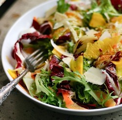 Radicchio and Frisee Salad