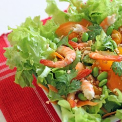 Shrimp Salad with Soy and Citrus