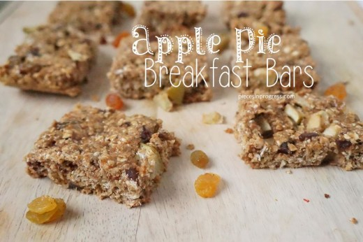 Apple Pie Breakfast Bars