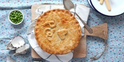 Beef, Stout and Oyster Pie