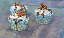 Beer Batter Cocoa Whiskey Cupcakes