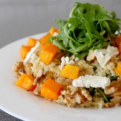Bulgur Salad with Roasted Squash