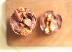 Chocolate Covered Pecan Clusters
