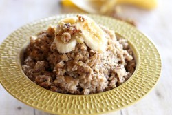 Crockpot Banana Nut Oatmeal