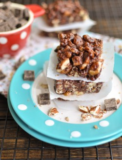 Dark Chocolate Pecan Treats