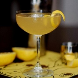 Deception Cocktail with Gin and Mezcal Recipe