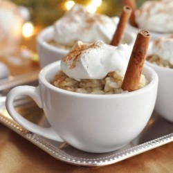 Eggnog Rice Pudding Recipe