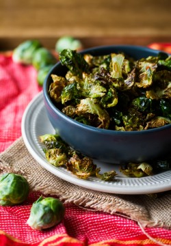 Fried Brussels Sprout Leaves