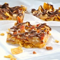 Frito Bacon No Bake Bars Recipe