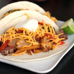 Grilled Chili Lime Steak Fajitas