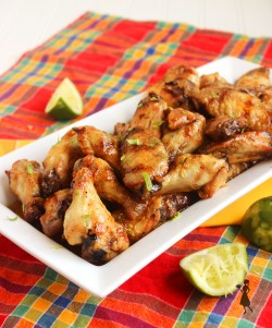 Grilled Honey-Habanero Wings