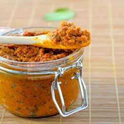 Home Made Thai Red Curry Paste