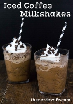 Iced Coffee Milkshakes