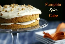 Low-Fat Pumpkin Spice Cake
