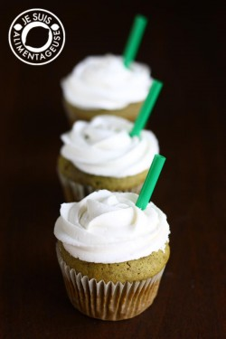 Matcha Green Tea Frappuccino Cupcakes Recipe