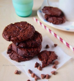 Nigella's Double Chocolate Chip Cookie Recipe